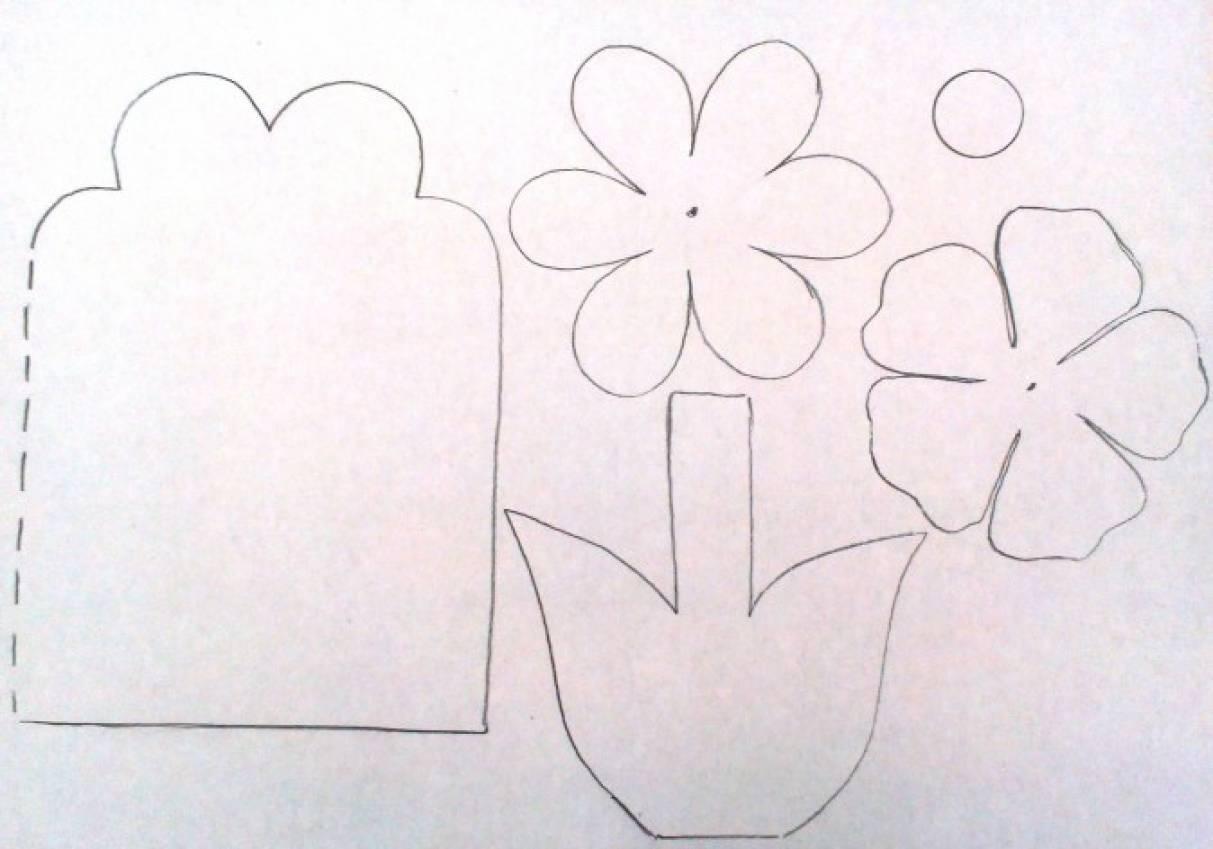 под шаблоны открыток к 8 марта своими руками начальная школа чай тоже