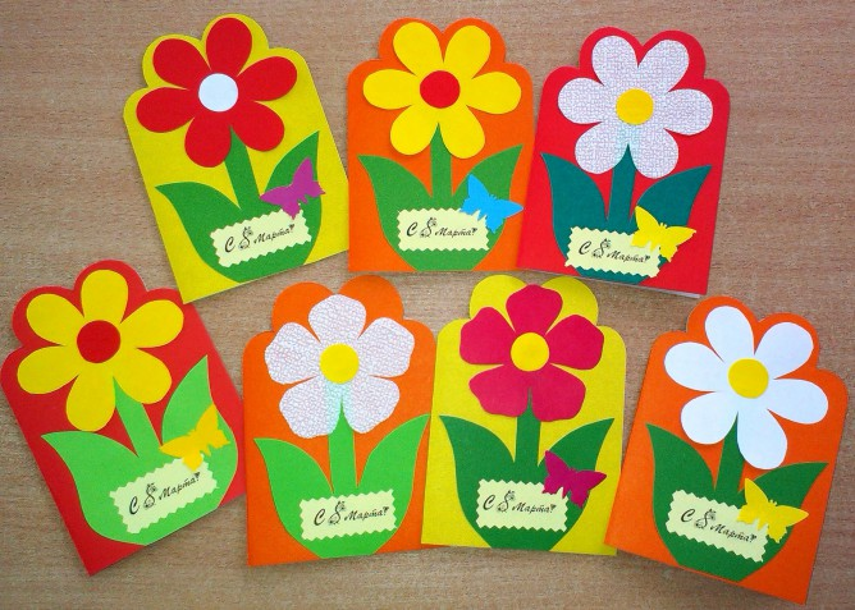 открытки своими руками картинки