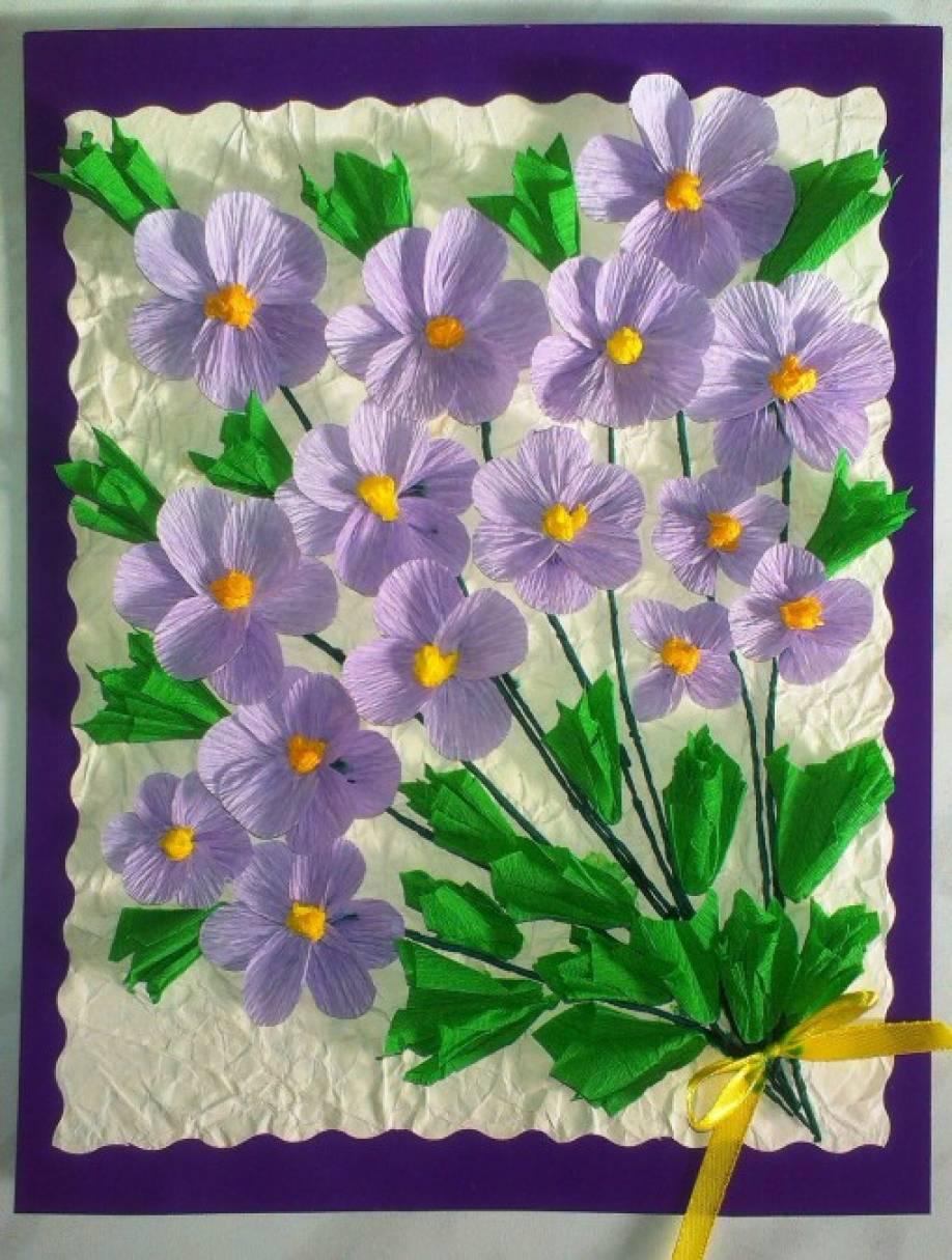 Цветы своими руками детский сад фото 979
