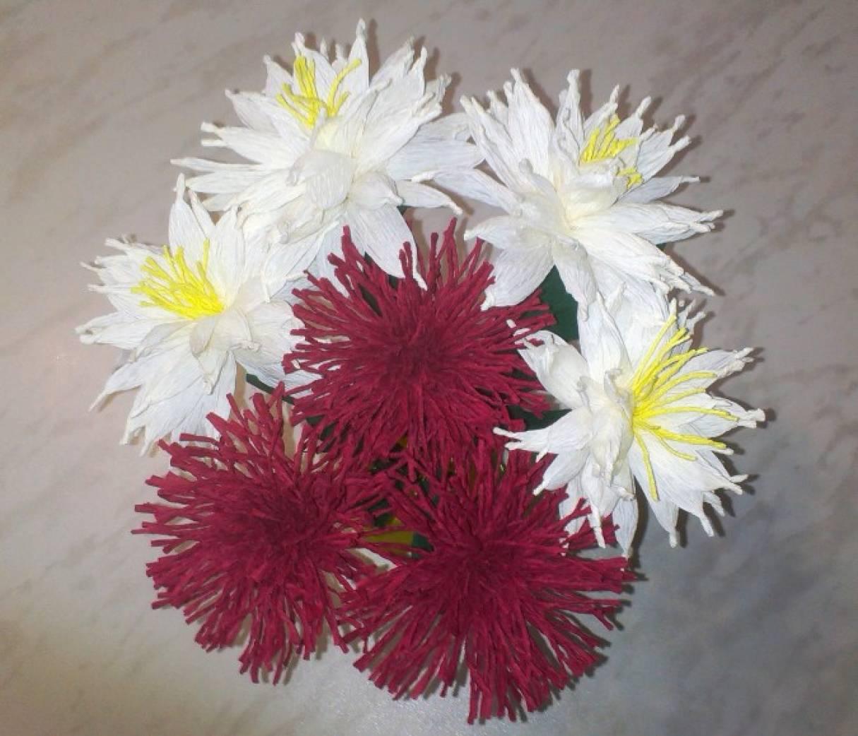Акции цветы своими руками