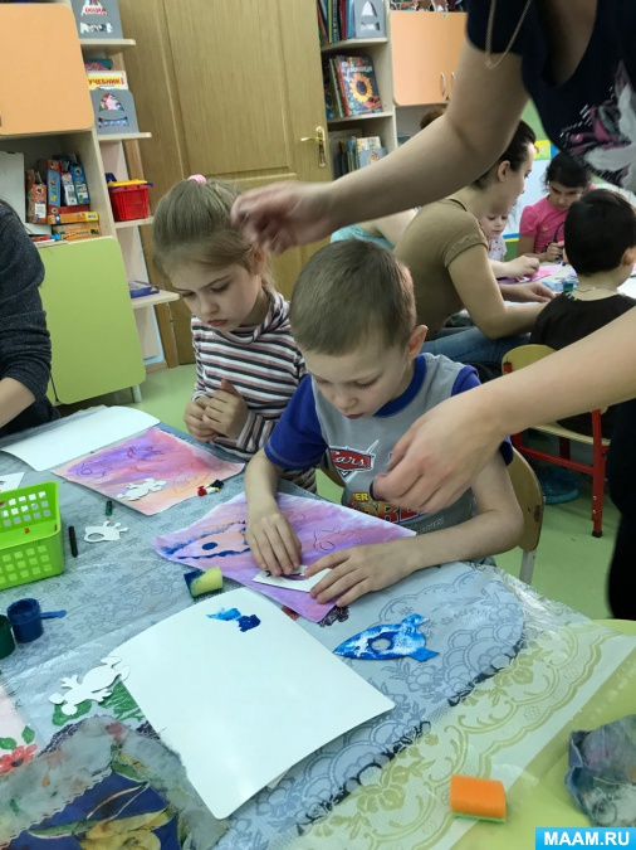 Мастер-класс для родителей «Космос»