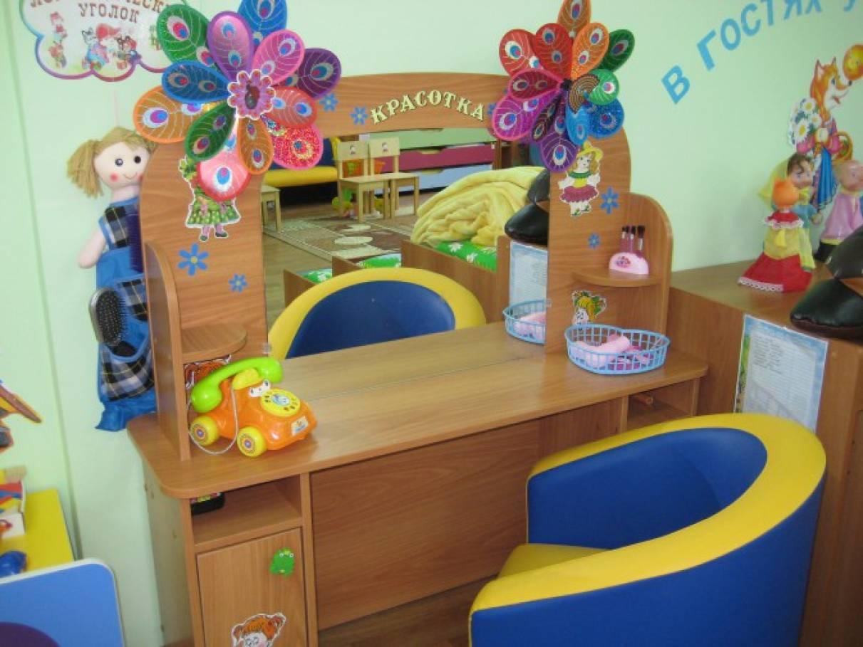 Оформление игровой зон в детском саду своими  398
