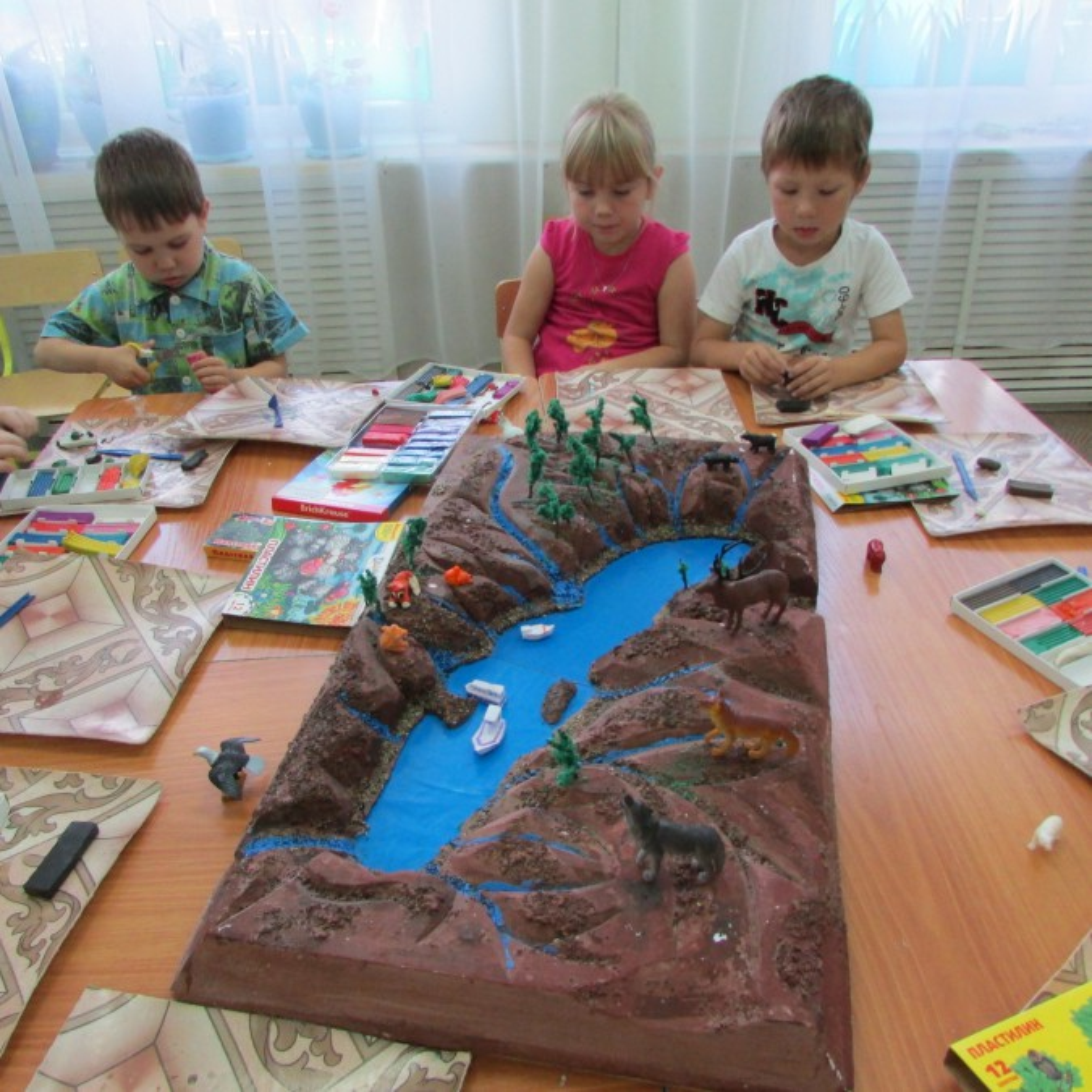Макет байкала своими руками для детского сада