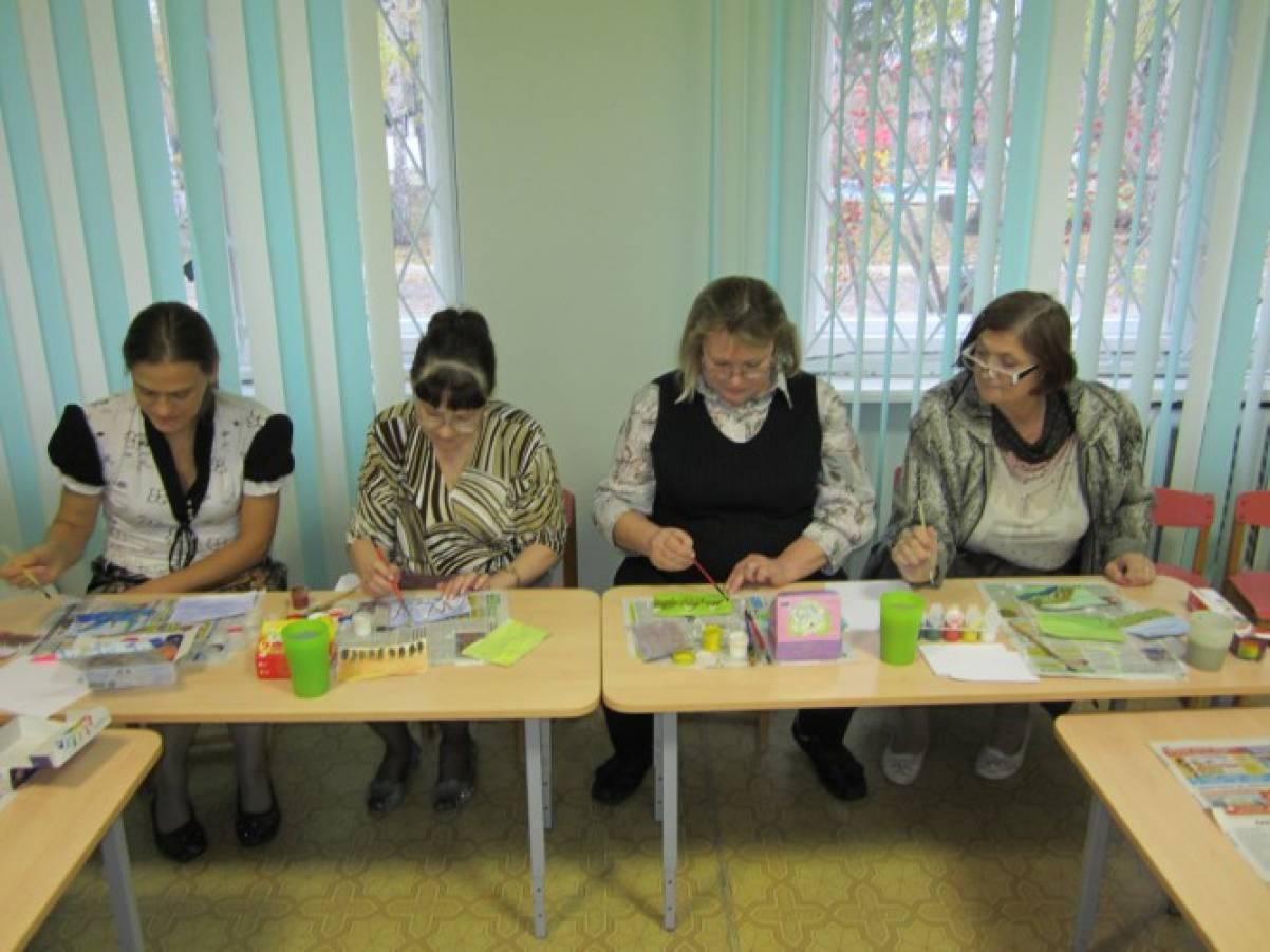 Конспект мастер-класса с воспитателями «Арт-терапия»