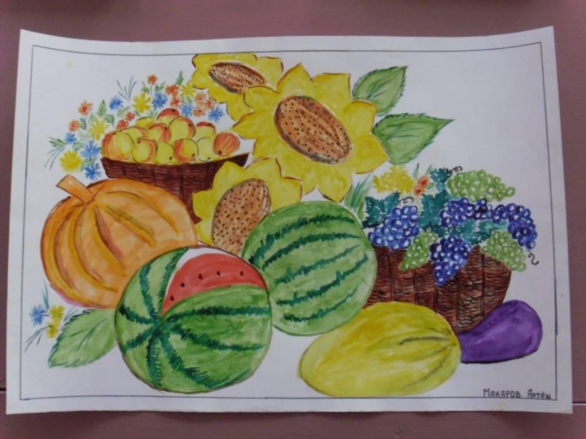Конкурс рисунков на тему осень 1 класс 268