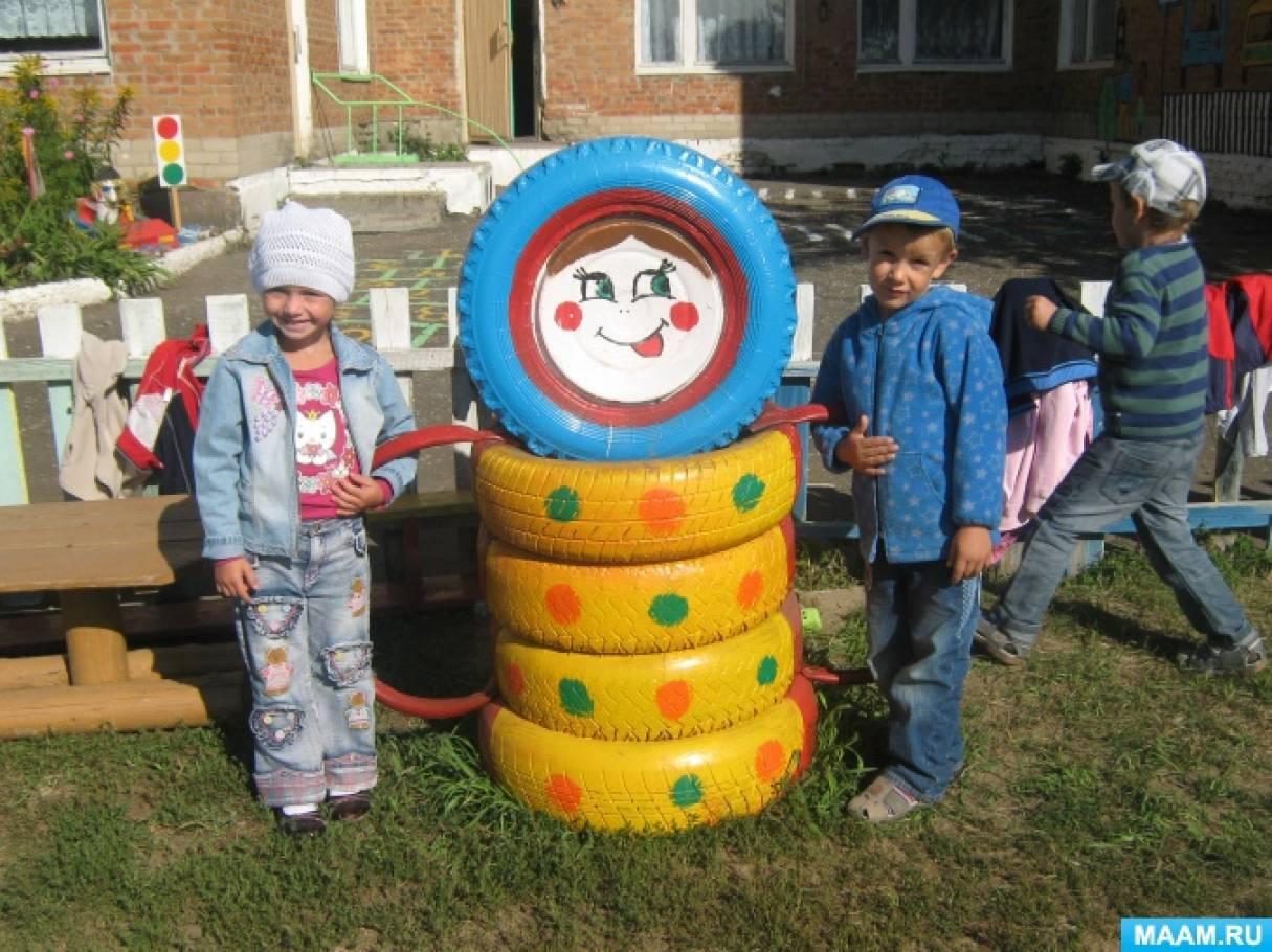 Предметно пространственная развивающая среда в детском саду. Оформление игровых участков
