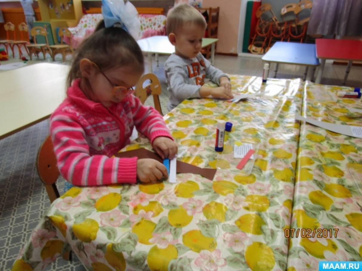 знакомим дошкольников с российским флагом