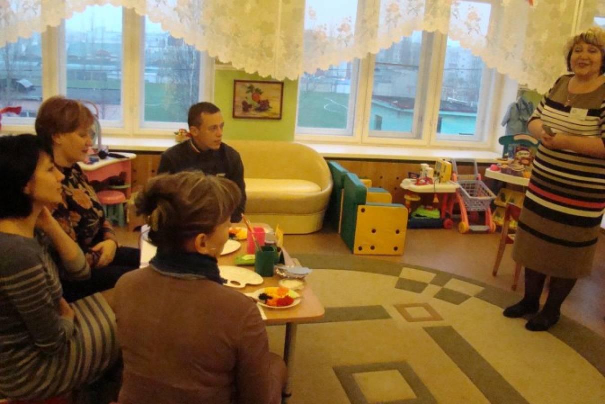 Конспект мастер-класса для детей старшей группы и их родителей по нетрадиционным техникам рисования