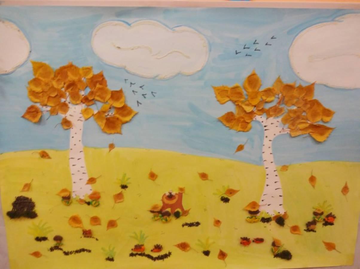 Осень детский сад стенгазета своими руками