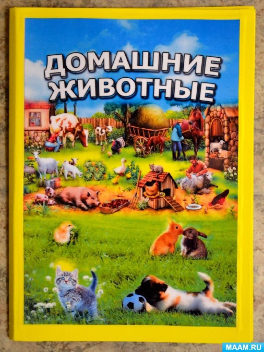 Лэпбук «Домашние животные» для воспитанников второй младшей группы