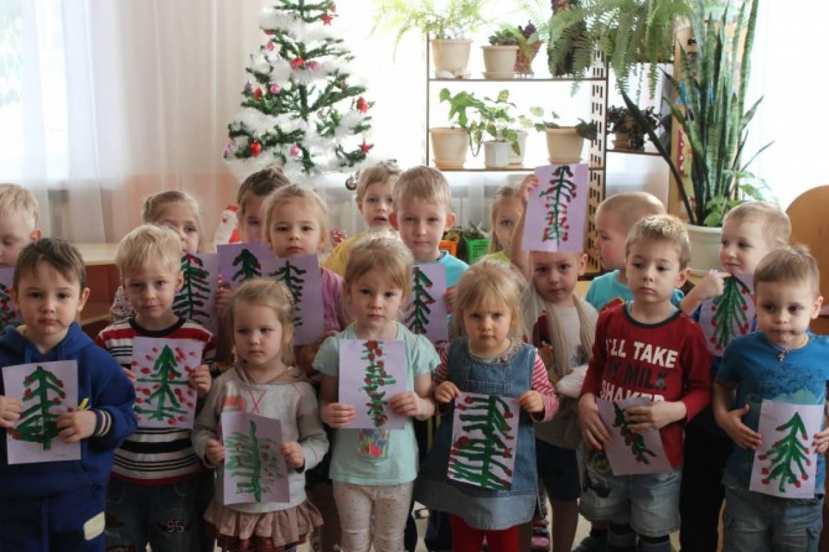 Как в нашей группе прошла тематическая неделя «Скоро, скоро Новый год!» (фотоотчёт)