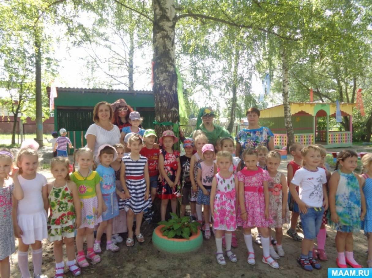 «Здравствуй, русская берёзка!» Сценарий народно-обрядового праздника «Троица» для детей старшего дошкольного возраста