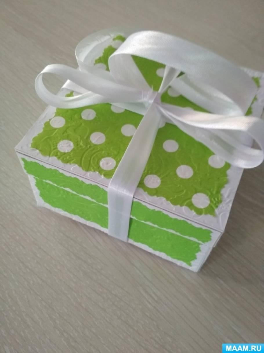 Мастер-класс «Пинетки для новорожденного из бумаги своими руками в коробочке»