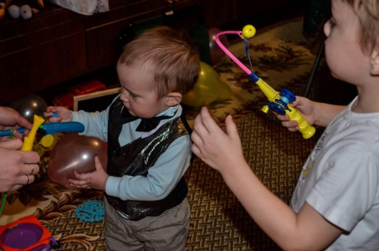 Сценарий праздника на трехлетие в семейном кругу для детей 2–4 лет