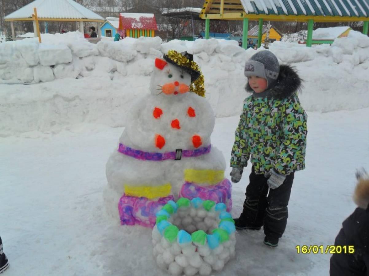 Оформление участка зимой своими руками фото 77