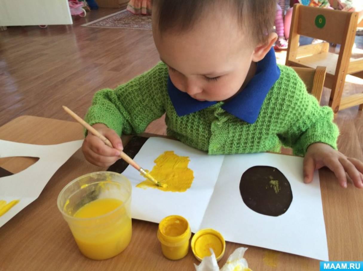 Детское творчество «Пасхальные цыплятки». Открытка для родителей, поздравление с Пасхой