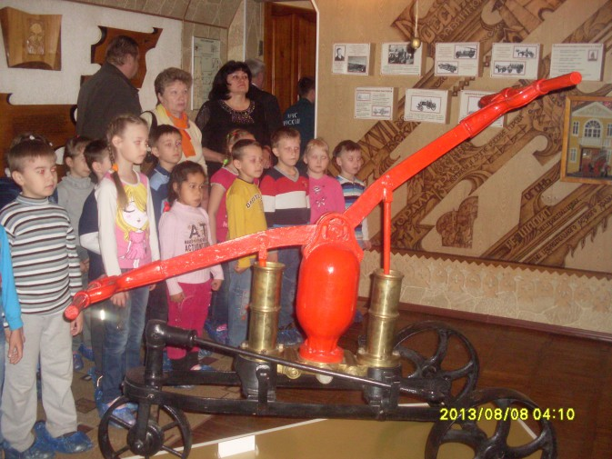 знакомство с профессией пожарного младшая группа