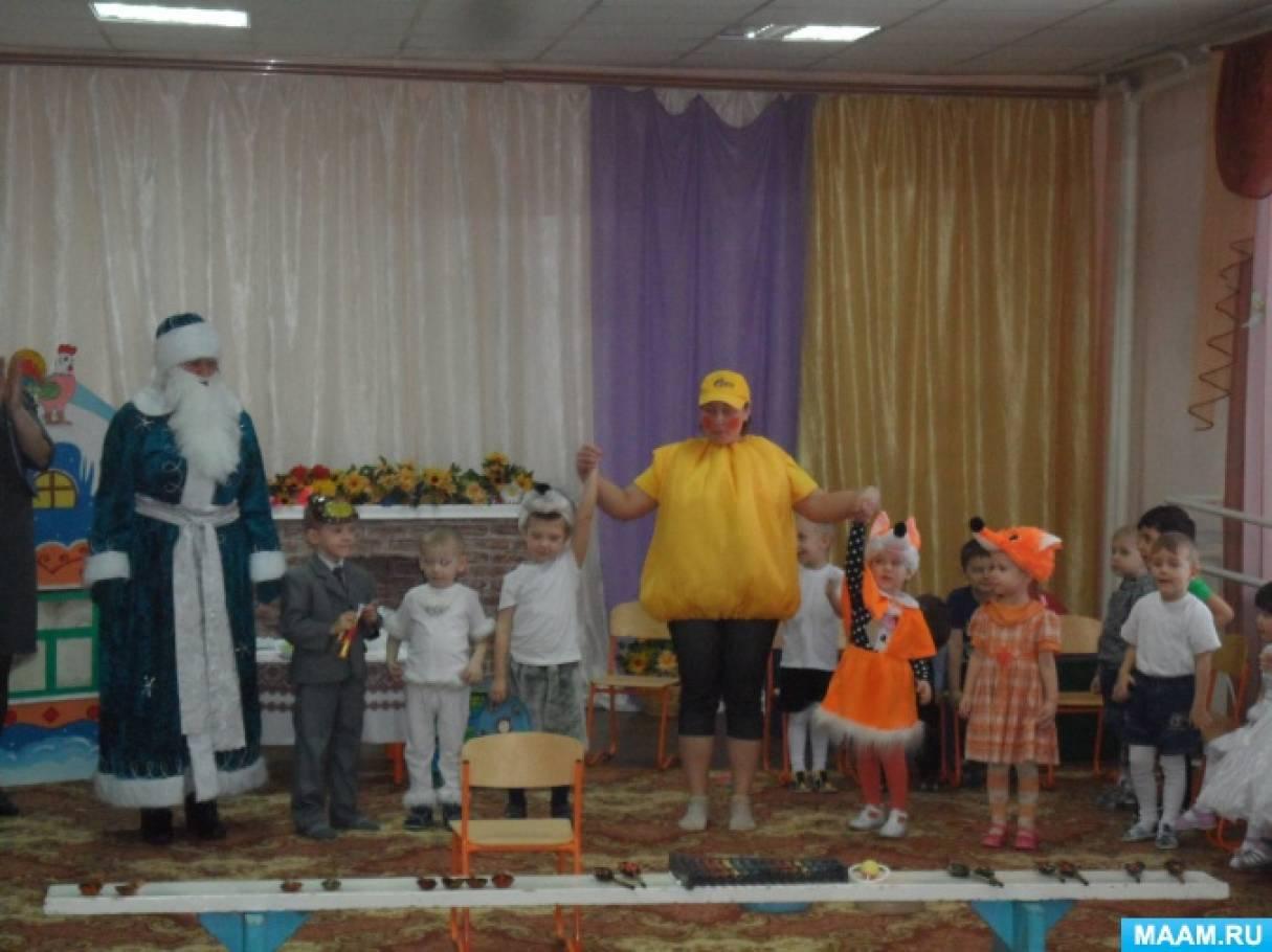 Фотоотчет о проекте по русской народной сказке «Колобок» в младшей группе