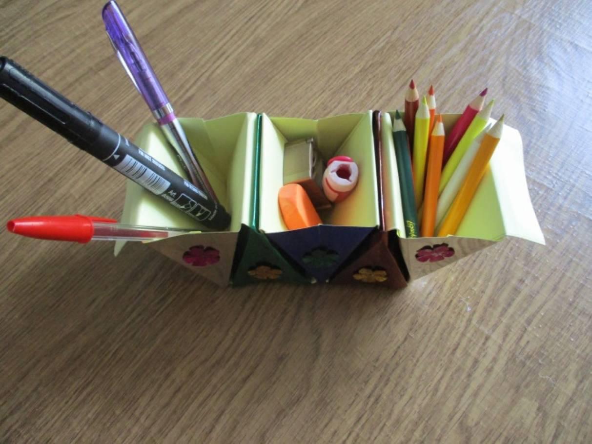 Подставки для карандашей своими руками мастер класс