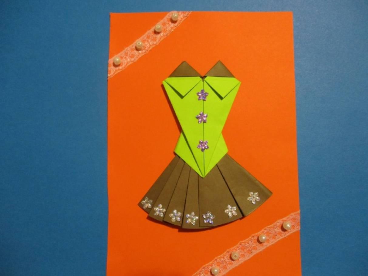 Оригами в одежде конструирование