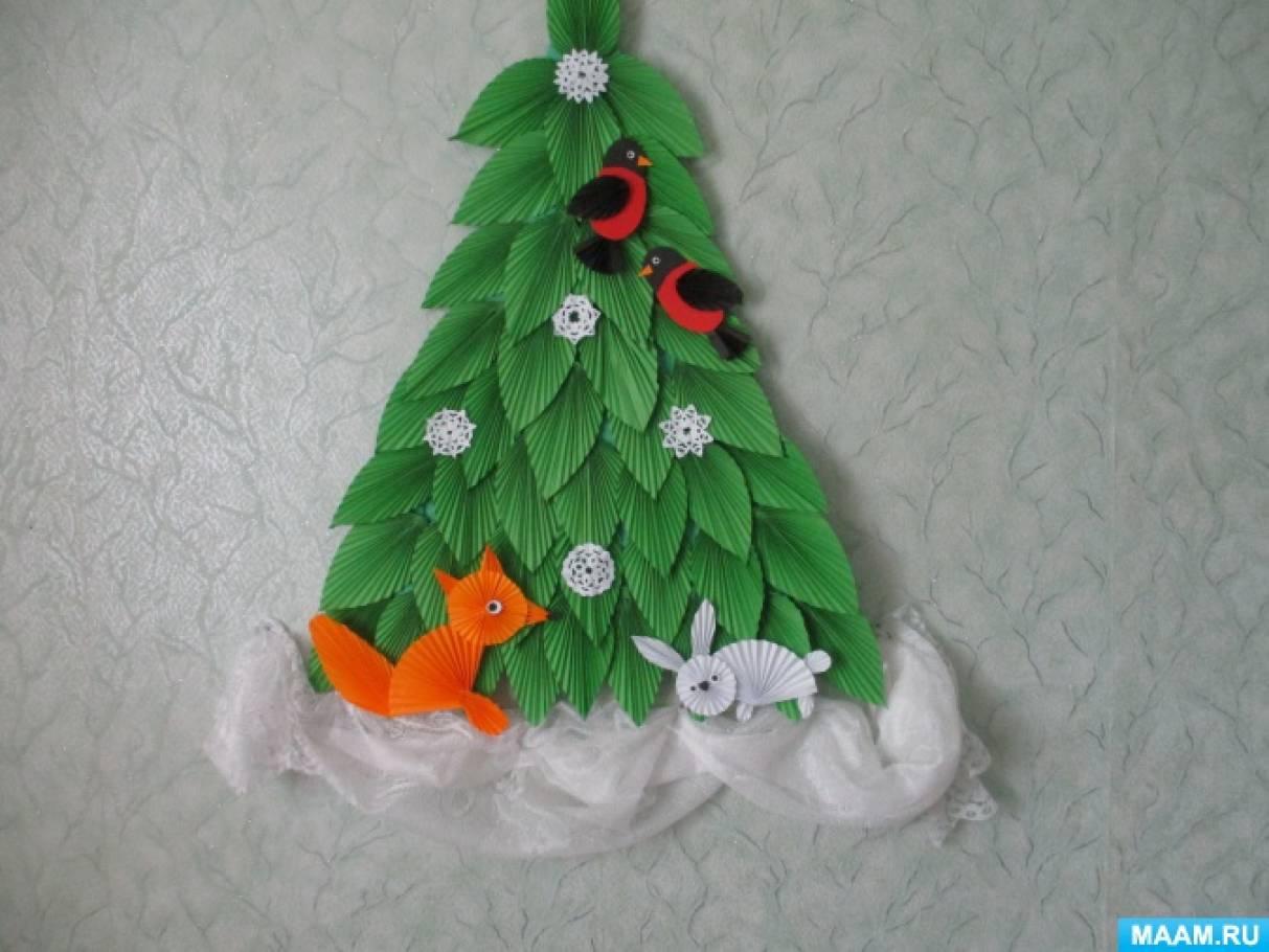 Мастер-класс по оригами «Лесная красавица и лесные жители».