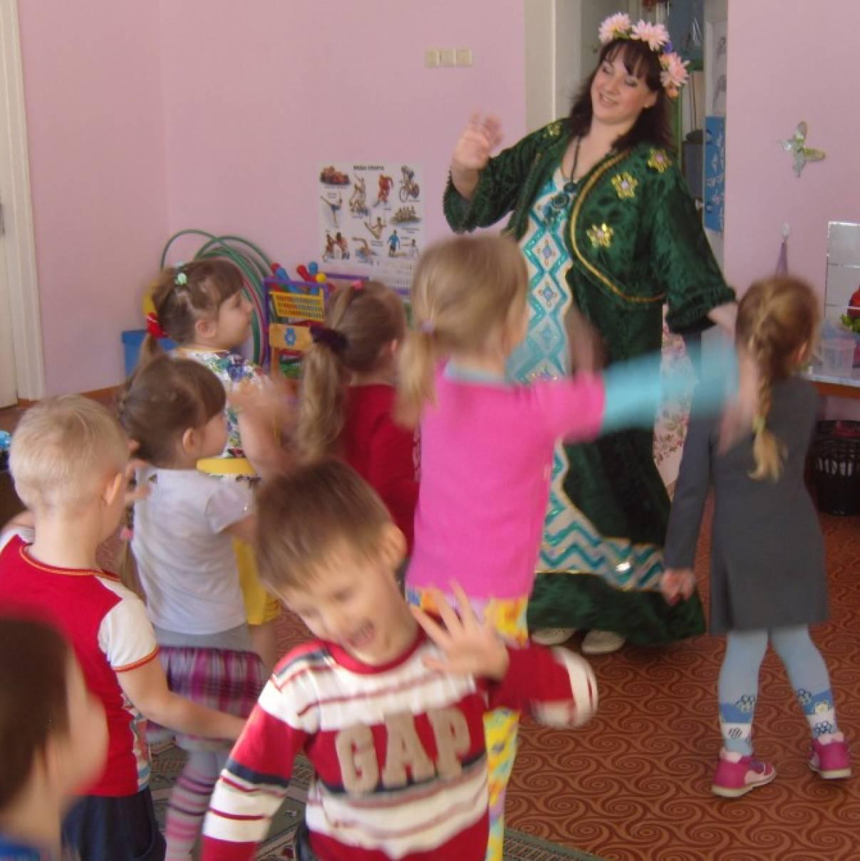 знакомство детей с русской культурой в детском саду