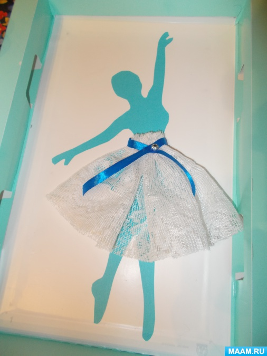 Юбочка для балерины поделка