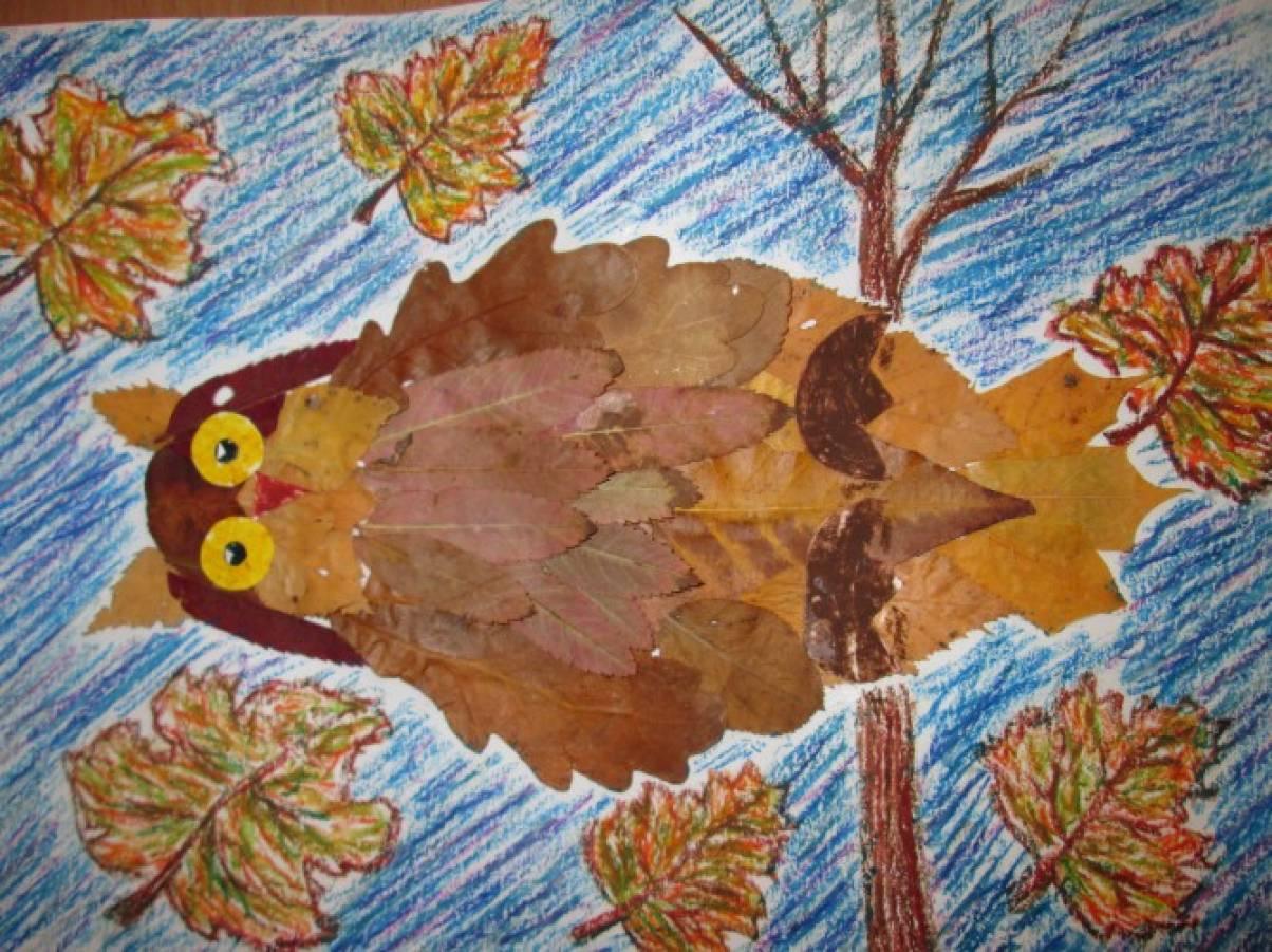 Поделки на тему осень дети 3-4 года 53