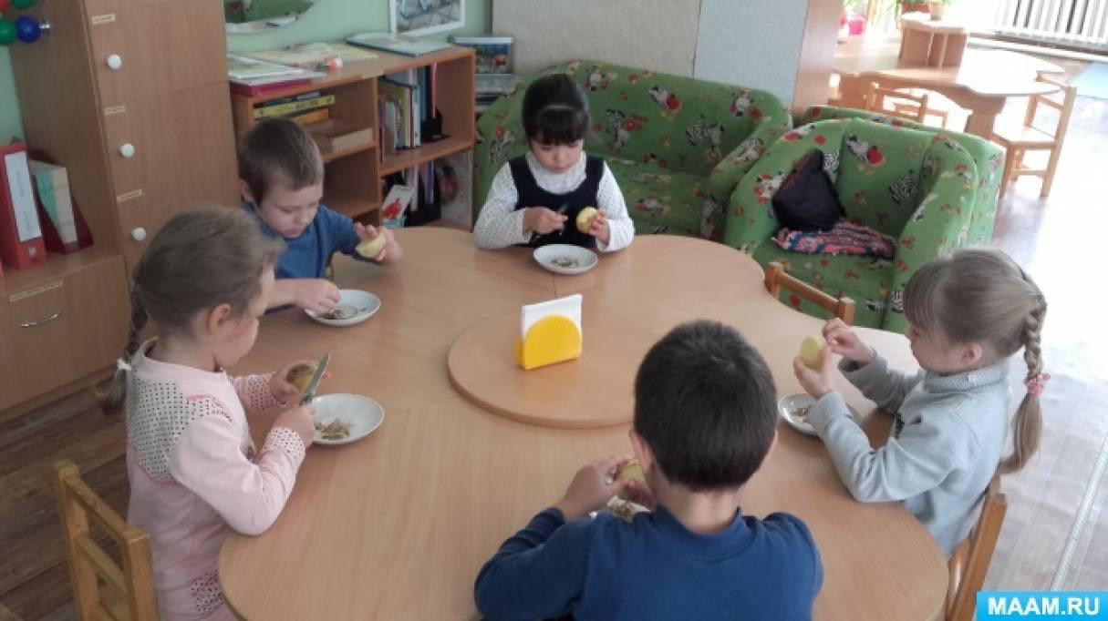 Итоговое мероприятие по теме «Овощи» в подготовительной группе «Готовим винегрет» (фотоотчет)