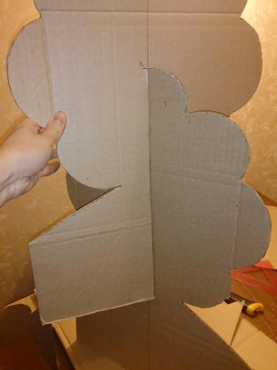 Как сделать чтобы картон стоял
