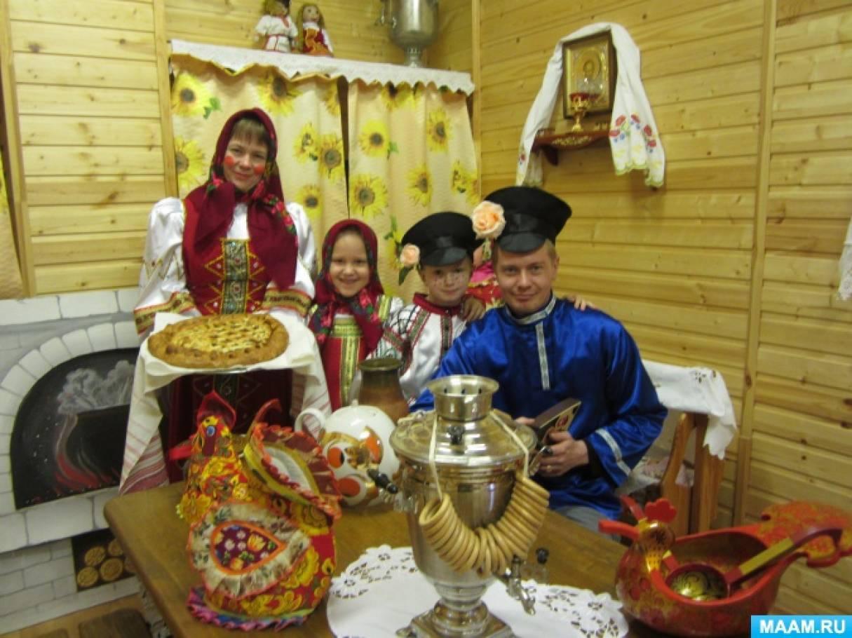 Всероссийский конкурс семейной фотографии по пословицам и поговоркам «Щи да каша-и не только!»