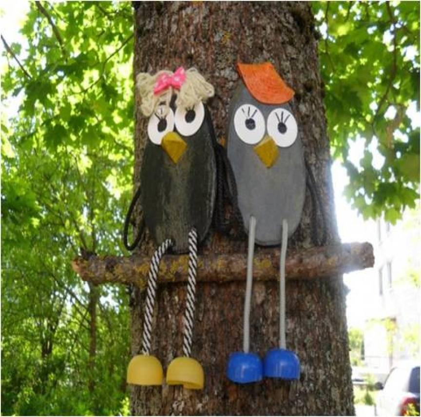 Поделка из зонта для детского сада