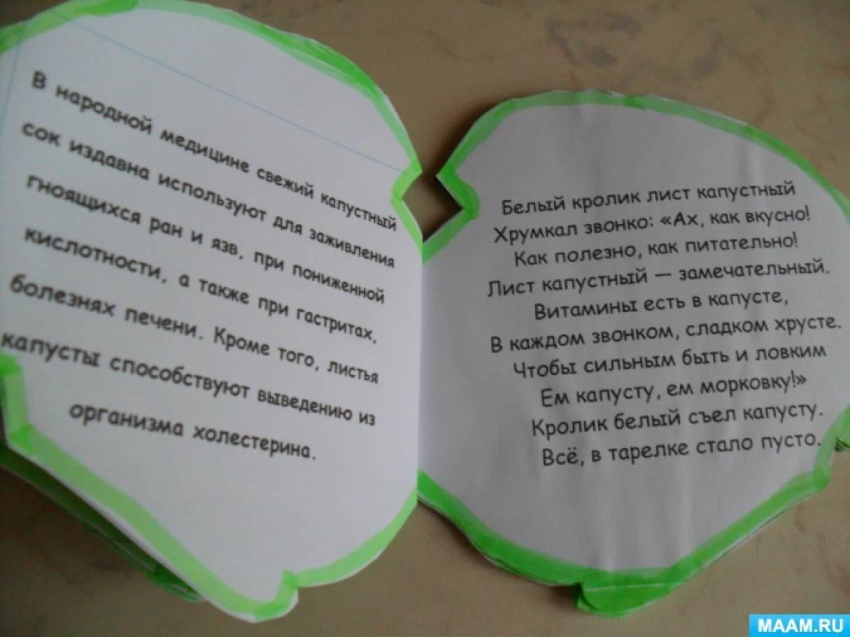 Книжка про овощи своими руками 12