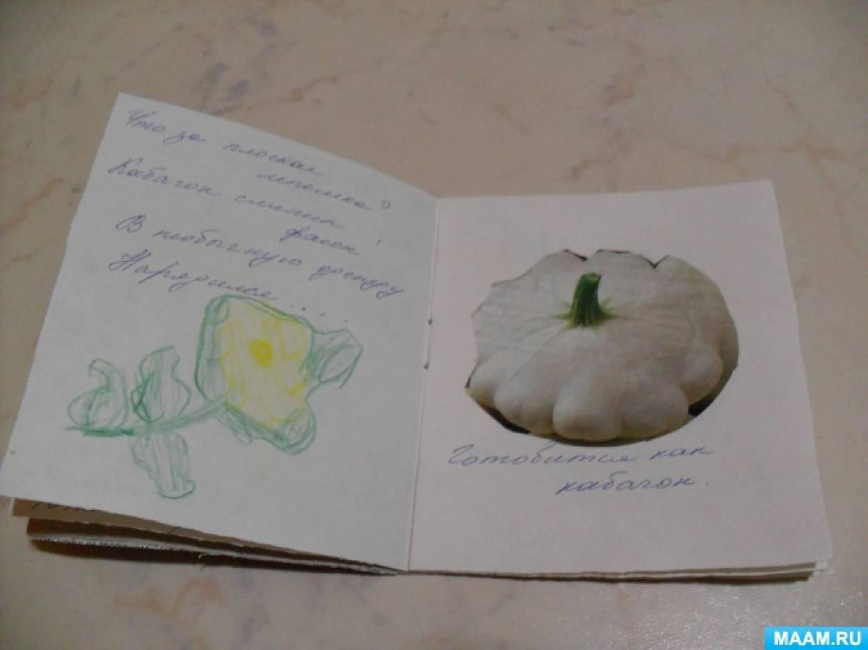Книжка про овощи своими руками 81