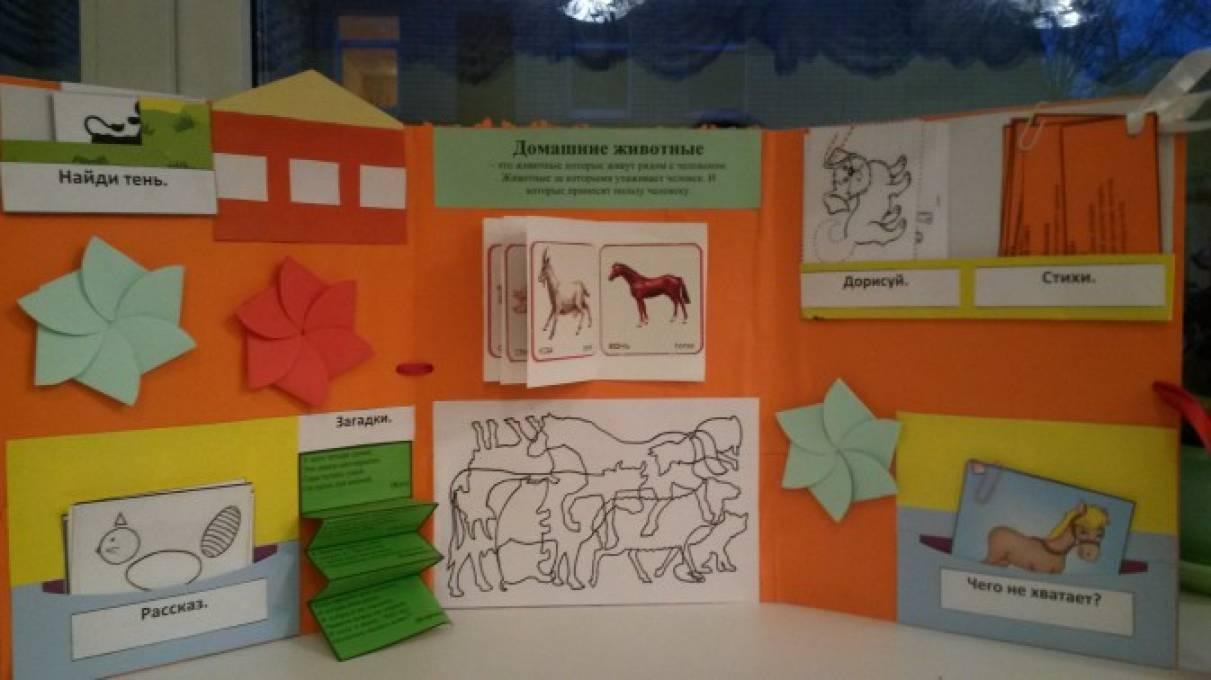 Лэпбук. Тематическая папка «Домашние животные ... Картинки Домашних Животных для Детей Со Звуком