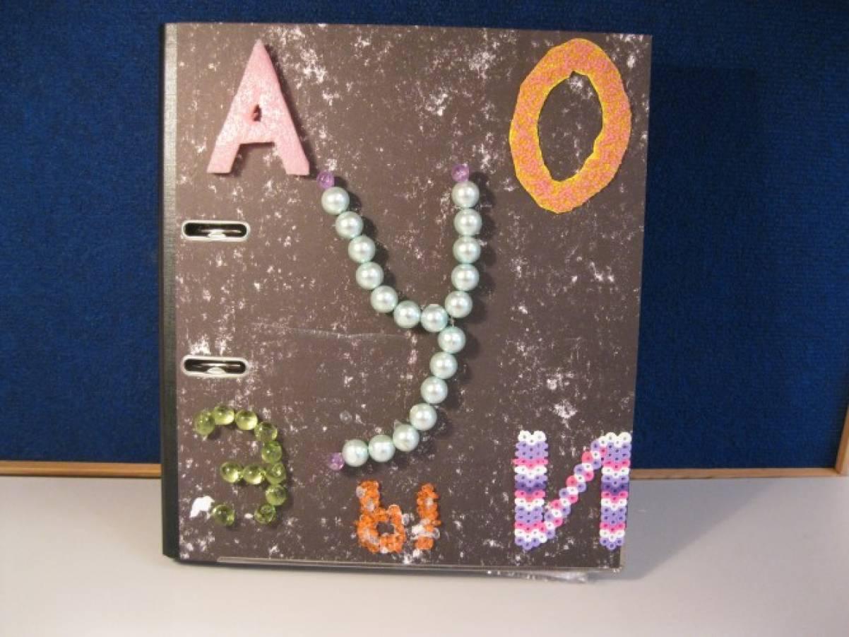 Поделки «Весёлый алфавит». Совместная работа логопеда, родителей и детей