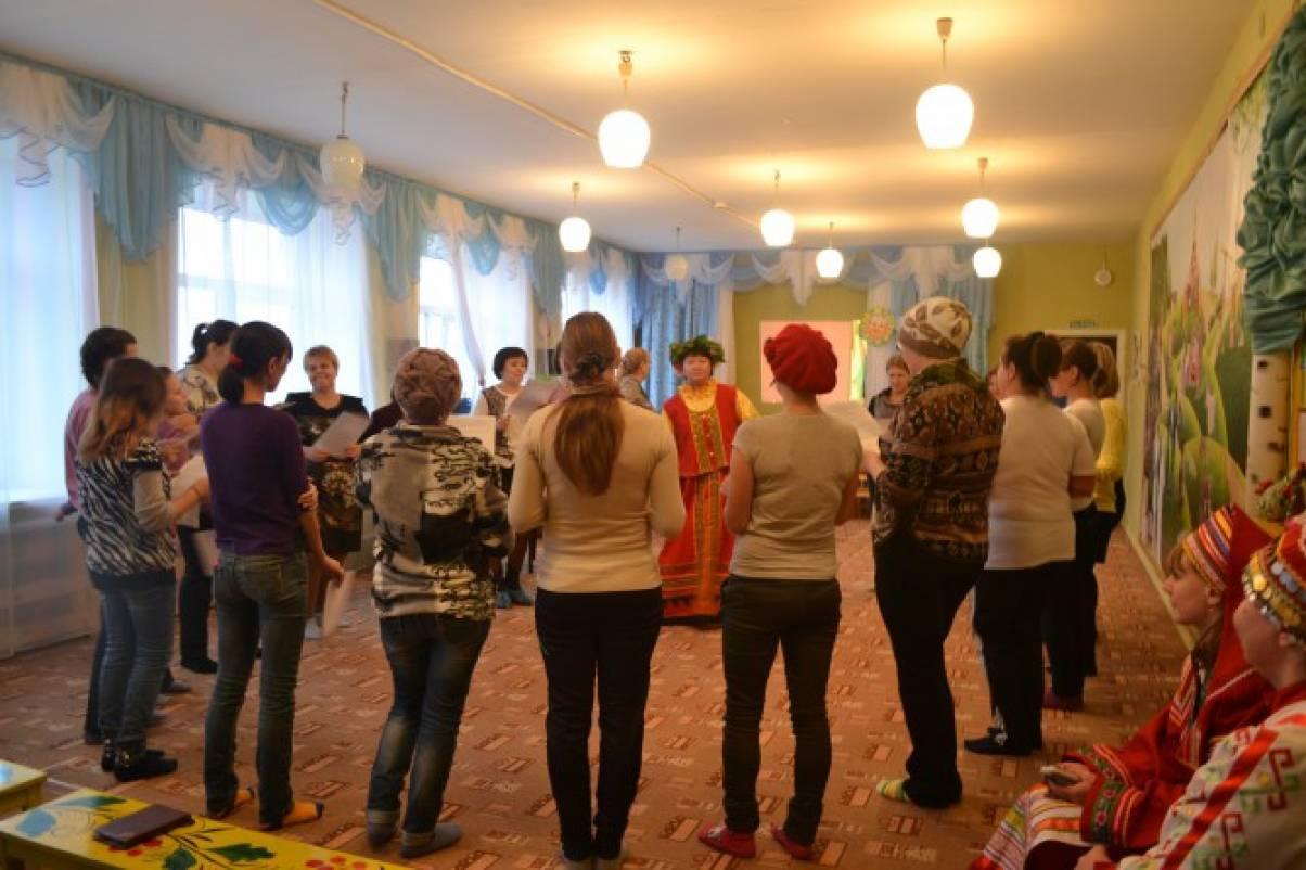 Мордовские народные игры для детей дошкольного возраста