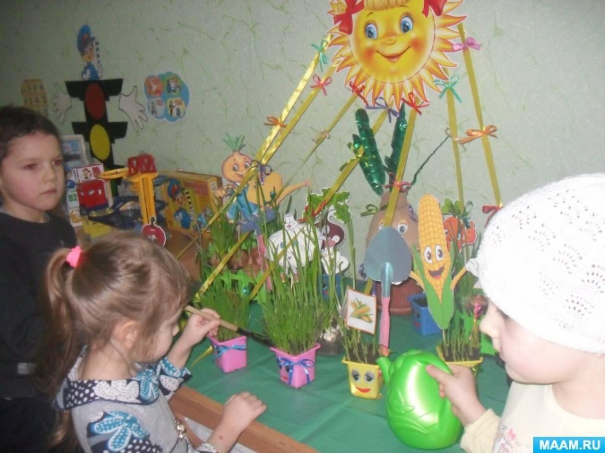 Мастер-класс «Веселый огород»