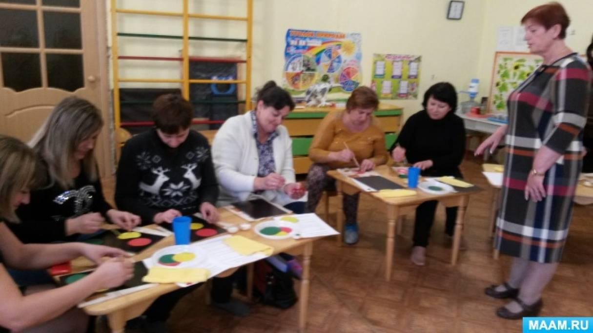 интересное знакомство родителей на собрание в детском саду
