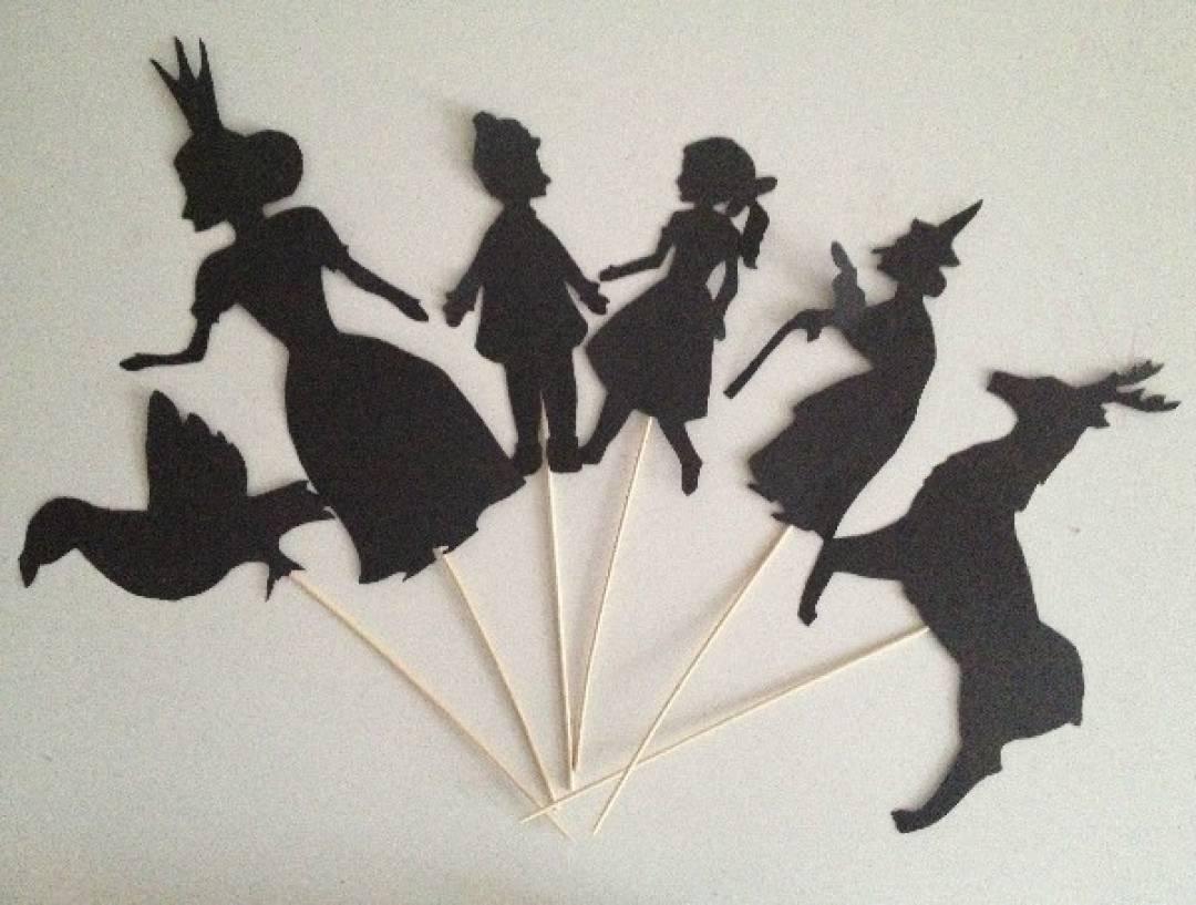 Театр теней своими руками для детей из рук в руки