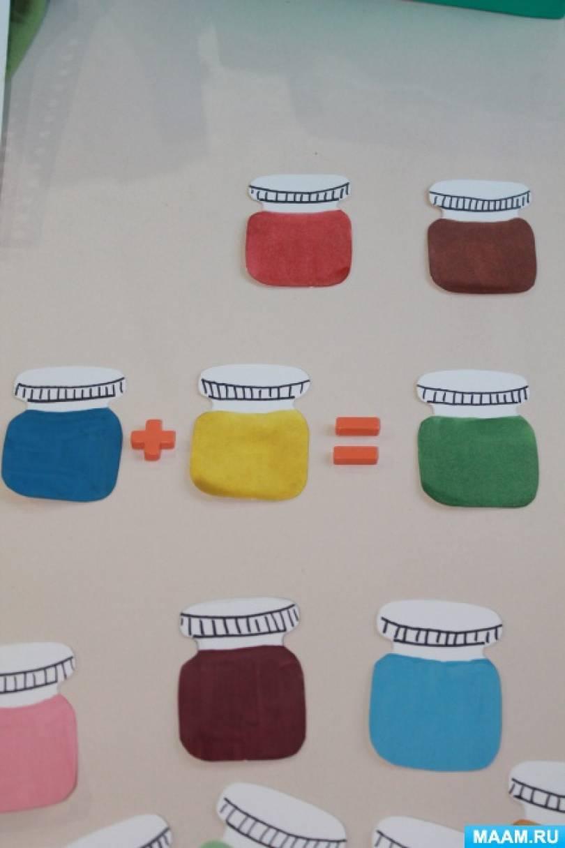 Дидактическая игра «Чудесные краски»