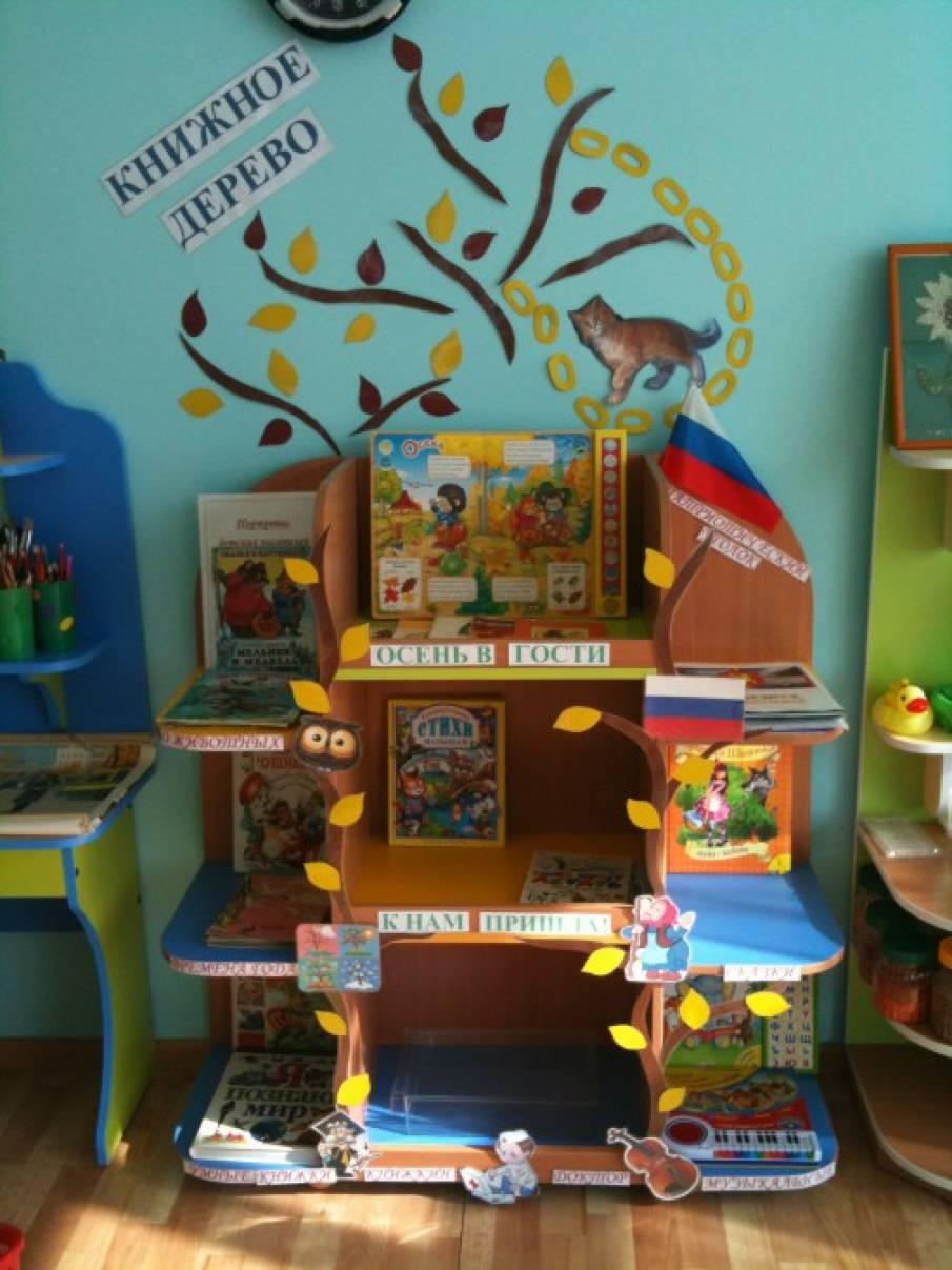 Оформление книжного уголка детского сада своими руками 824