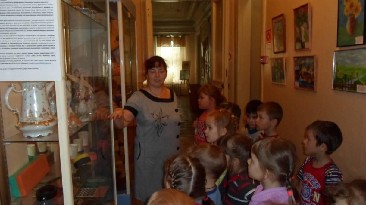 Фотоотчет «Экскурсия в Борский краеведческий музей»