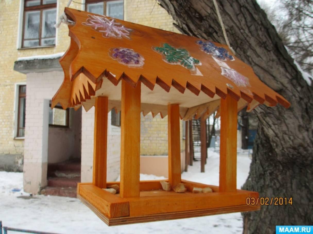 Фотоочет «Оформление зимнего участка в детском саду»