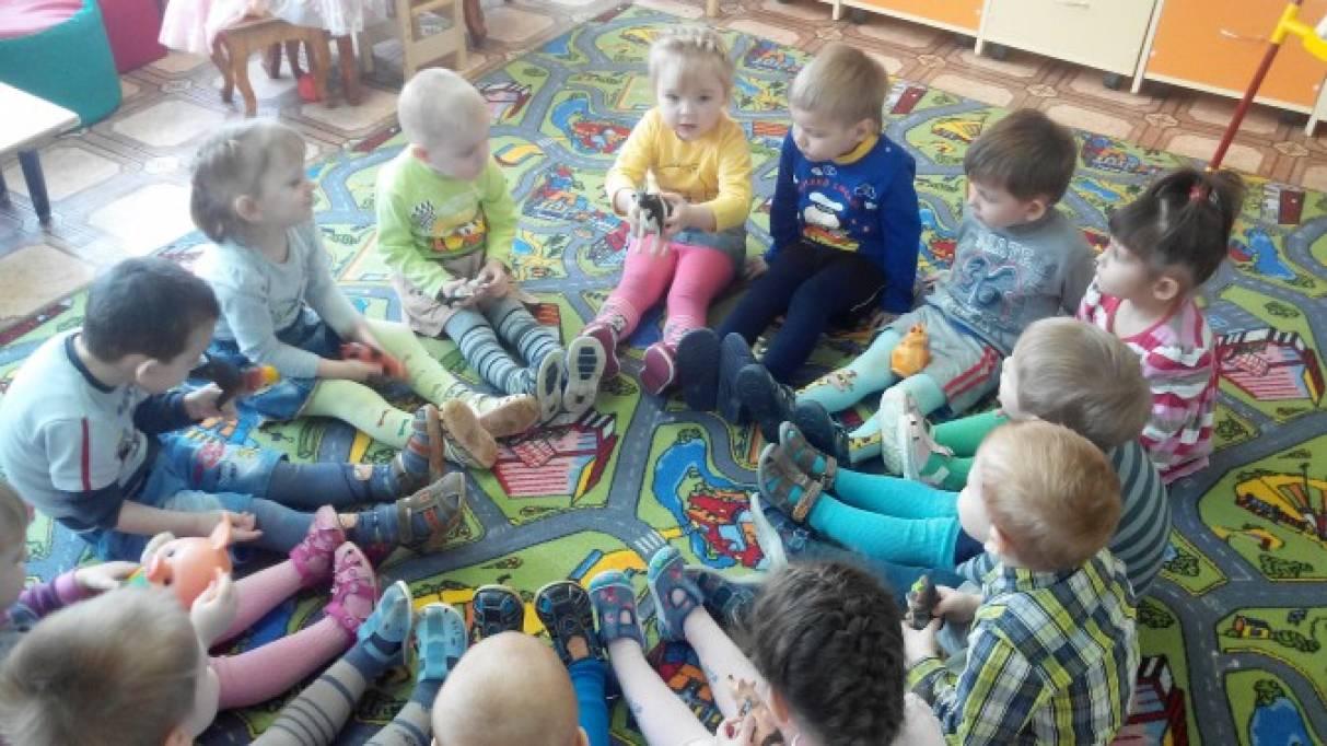 занятия для детей знакомство с домашними животными