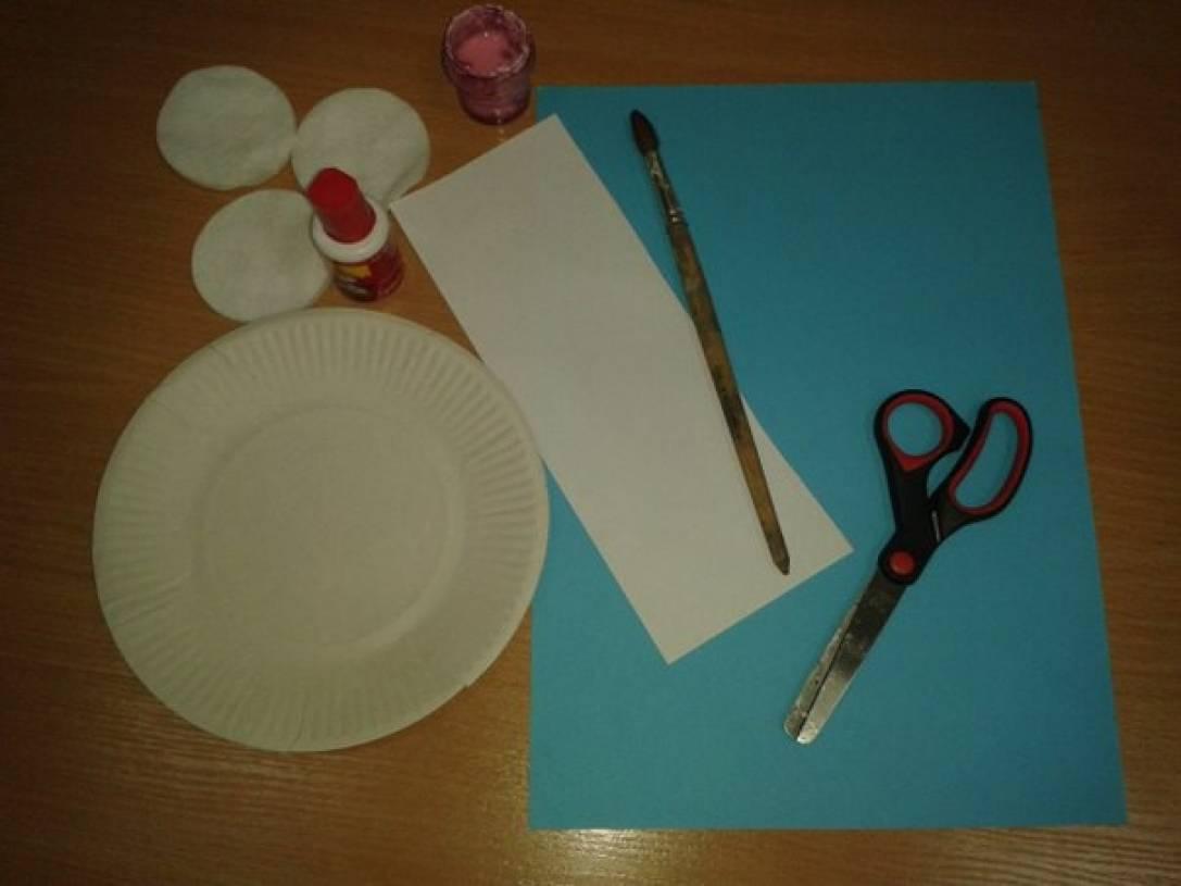 Поделки с клеям и картоном