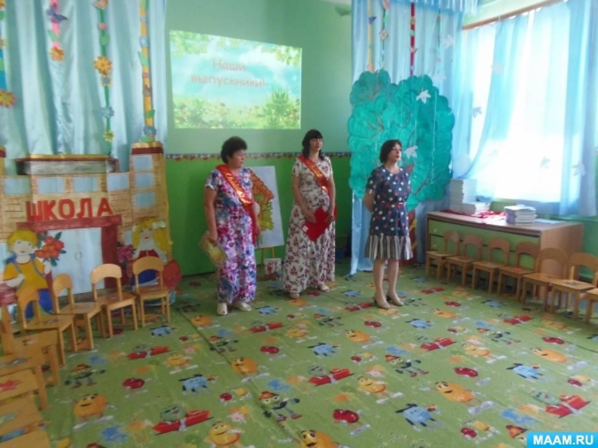 Фотоотчёт о выпускном празднике в детском саду «Путешествие во времени»