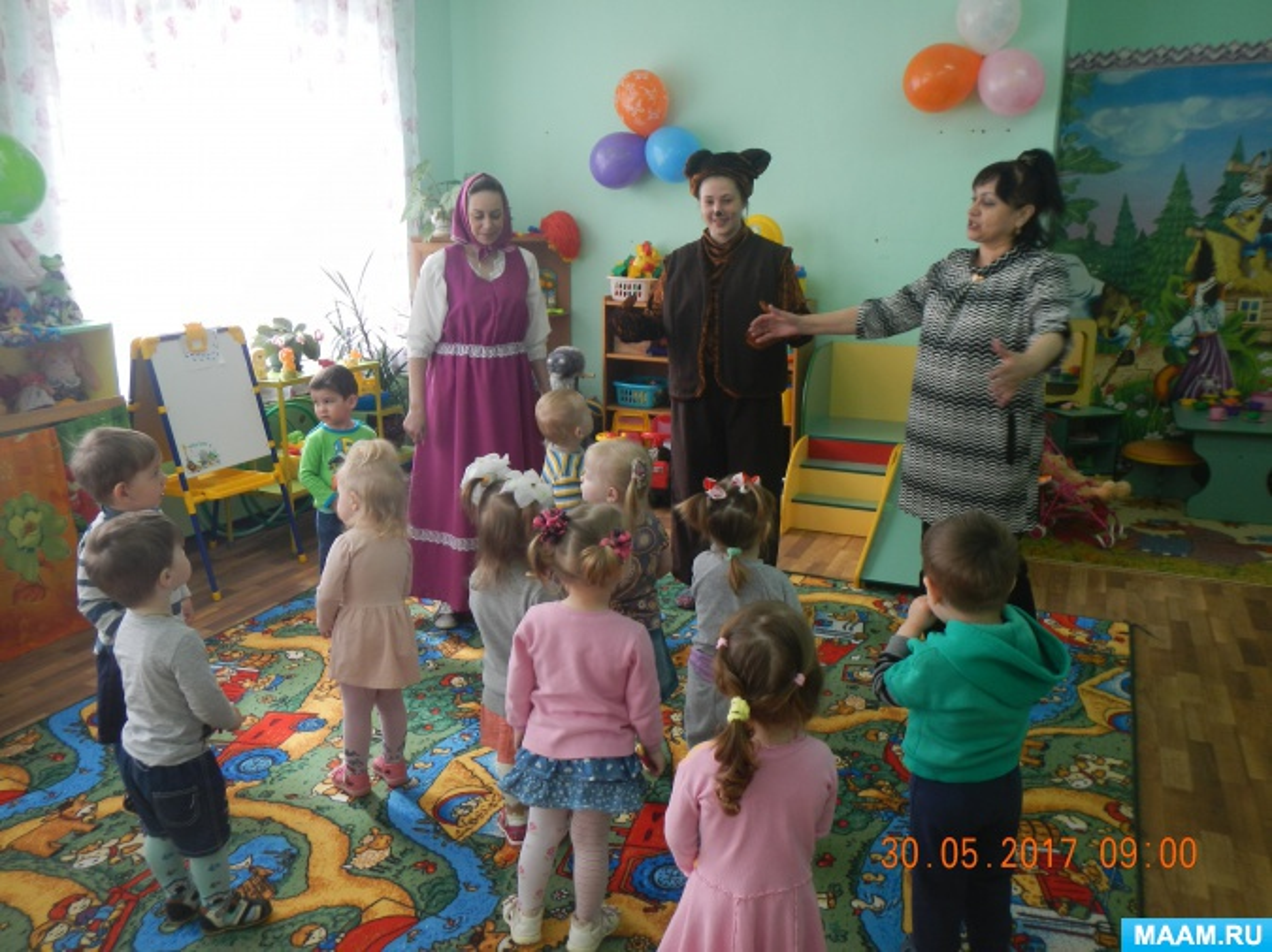 «Миша и Маша в гостях у ребят». Развлечение для первой младшей группы «Праздник мыльных пузырей»