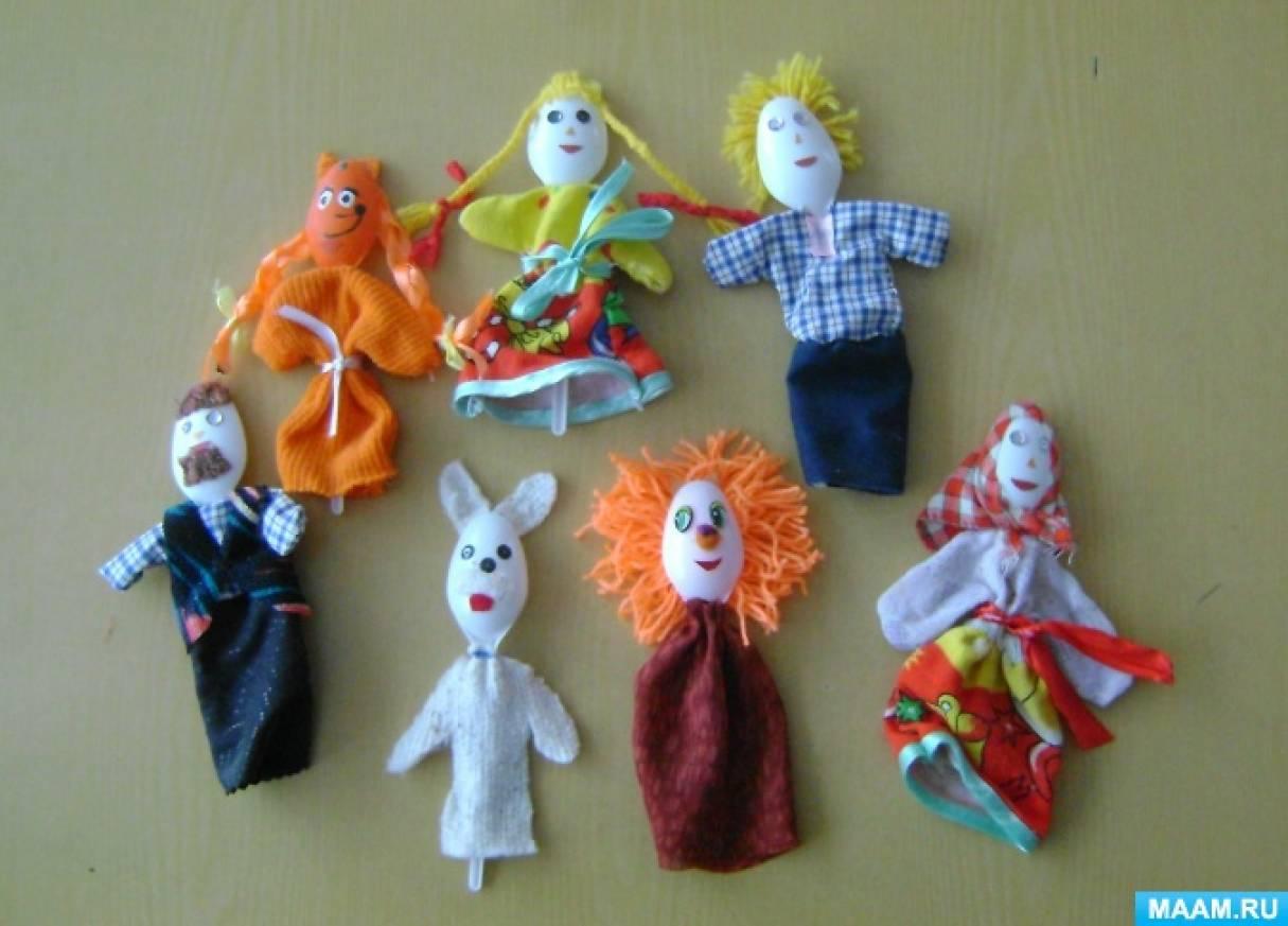Кукольный театр из ложек своими руками 52