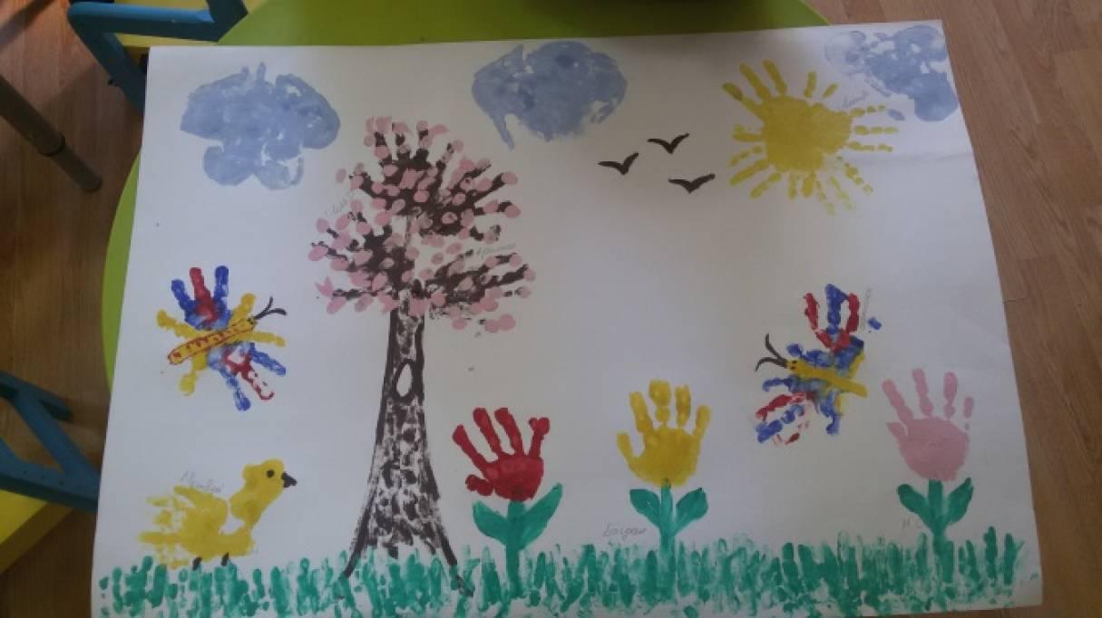 всякий рисование на тему весна в младшей группе картинки передней части стопы